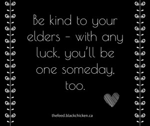 Kind to Elders